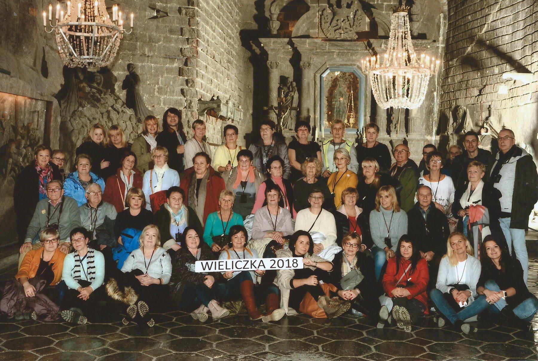 Wycieczka integracyjna do Wieliczki